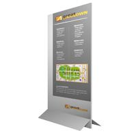 Aufstellfüße für PVC- MDF- und Holzplatten für den nnen- und den Außenbereich